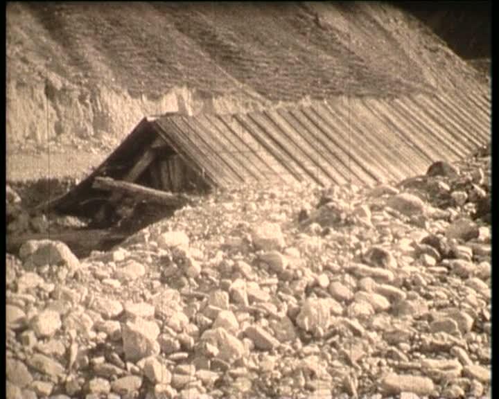 Georges Favier, témoin de la crue de 1957 à Ceillac