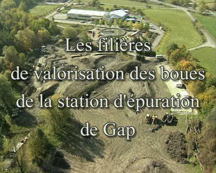 Filières de valorisation des boues de la station d'épuration de Gap (Les)
