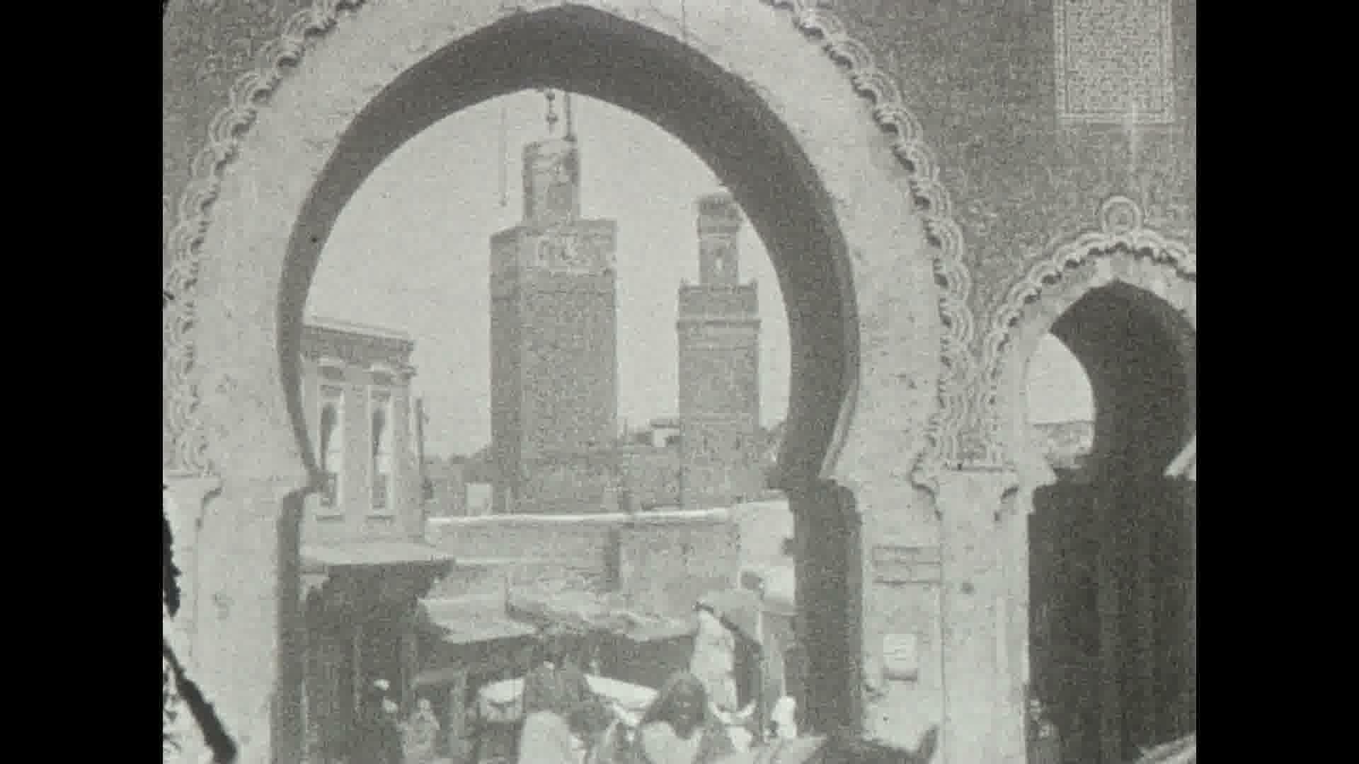 Un tour du Maroc, 1930 environ