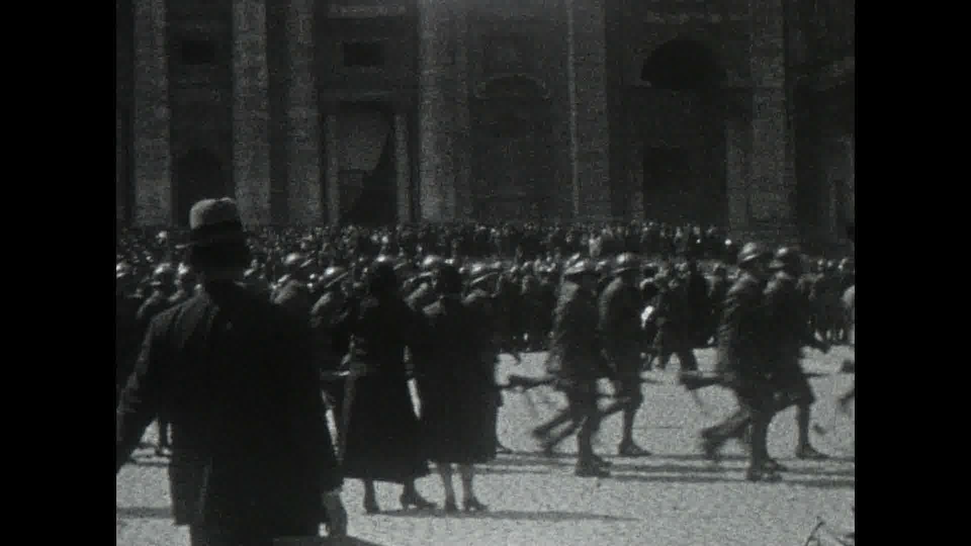 Un tour de l'Italie en 1933