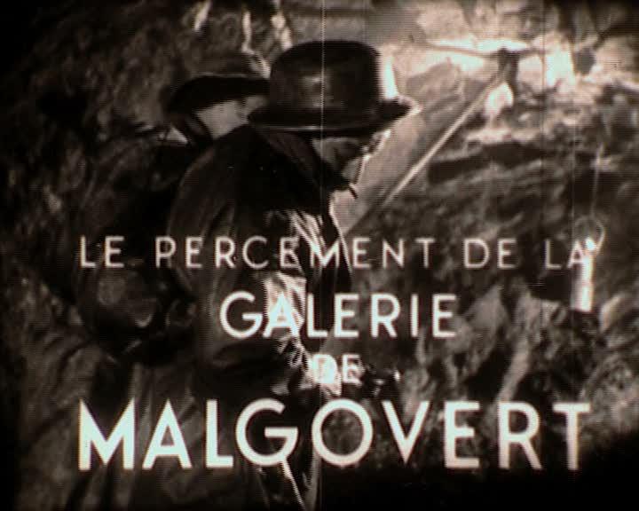 Percement de la galerie de Malgovert (Le)