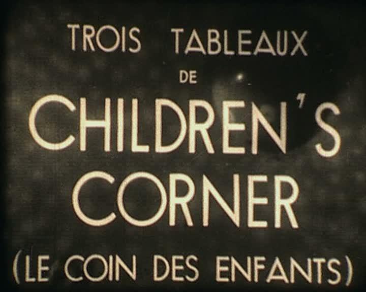 Trois tableaux de Children's corner