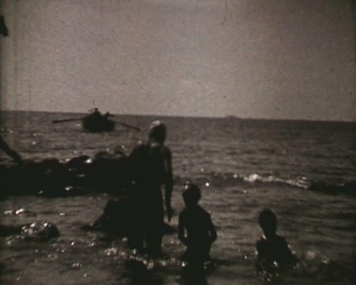 Jacques et Gaby à la mer