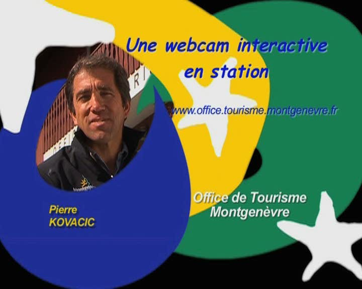 Une webcam interactive en station