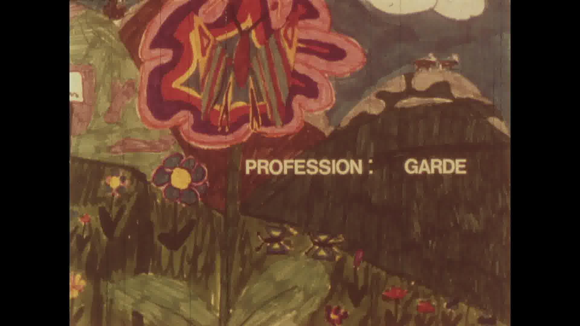 Profession : garde
