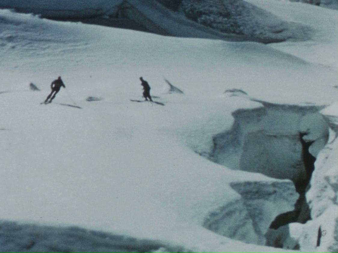 Grande descente (La) - Georges STROUVE - 1952 - Films de montagne - Cinémathèque d'images de montagne