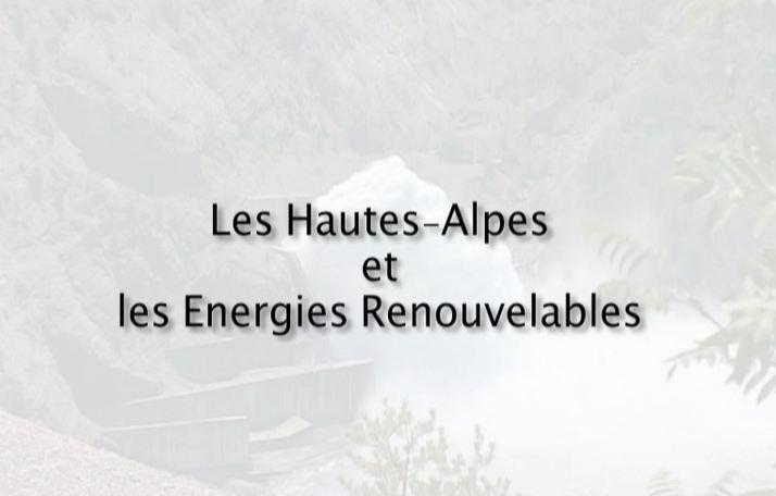Hautes-Alpes et les énergies renouvelables (Les)