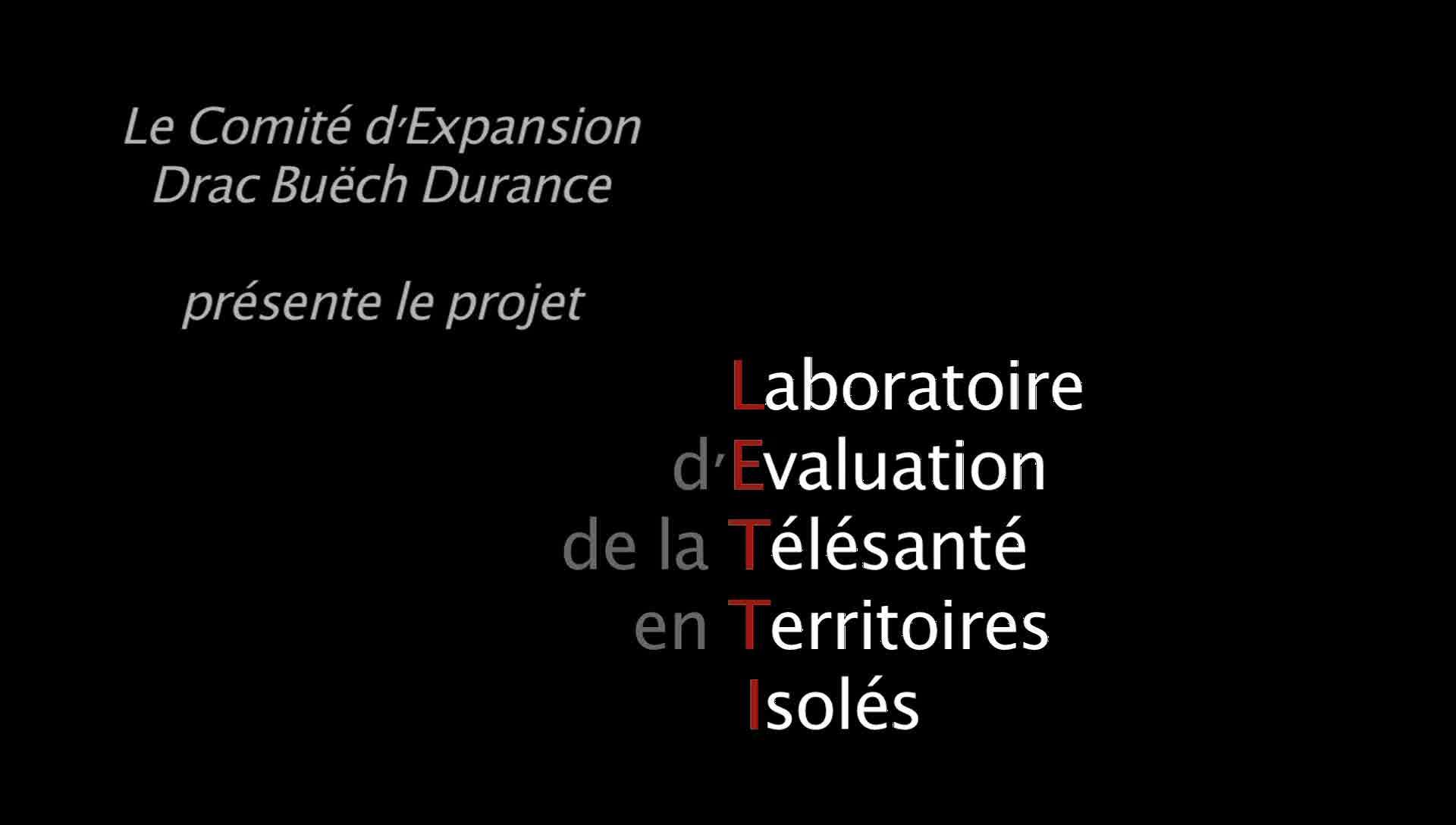 Laboratoire d'Evaluation de la Télésanté en Territoires Isolés