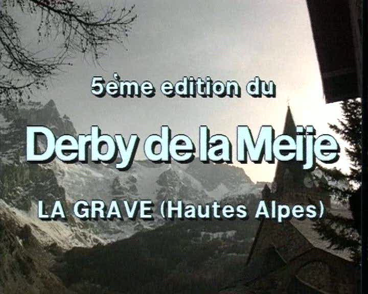 5ème édition du Derby de la Meije