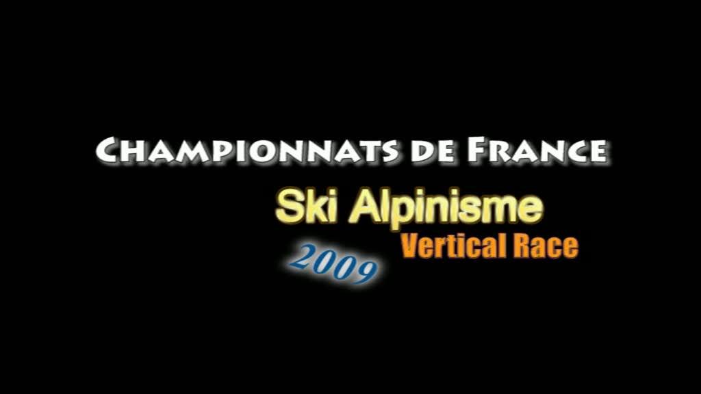 Championnats de France de ski-alpinisme Vertical Race 2009