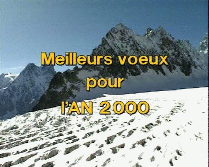Meilleurs voeux pour l'AN 2000