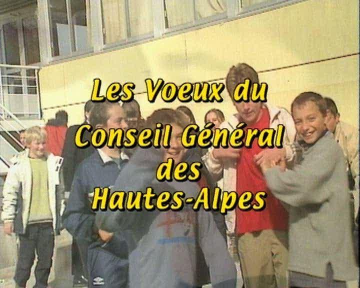 Voeux du Conseil Général des Hautes-Alpes (Les)