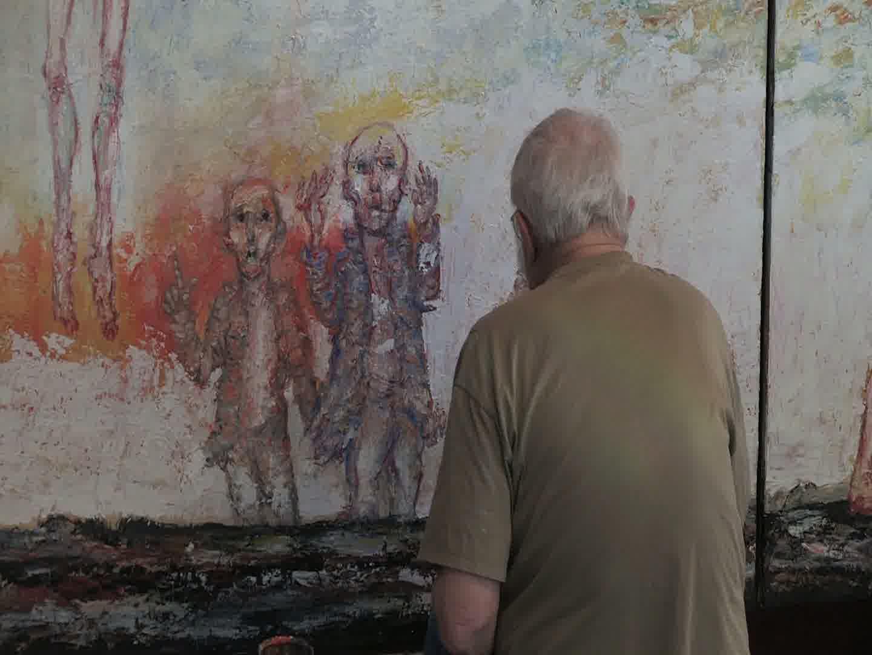 Gérard Eppellé peint