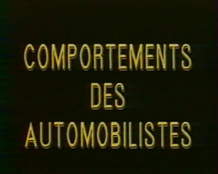 Comportements des automobilistes