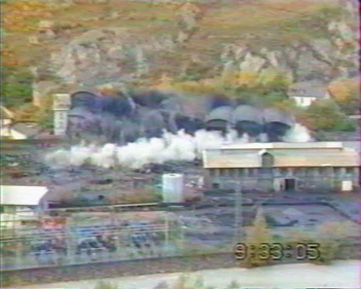 Destruction et reconversion de l'usine Péchiney Aluminium de L'Argentière-la-Bessée