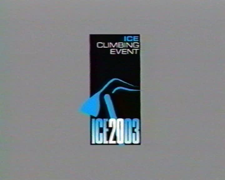 Ice Climbing Event ICE 2003