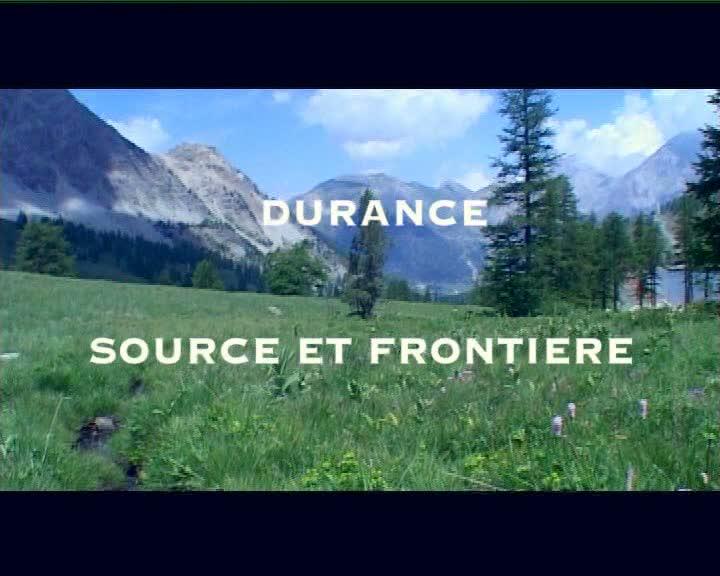 Durance, source et frontière