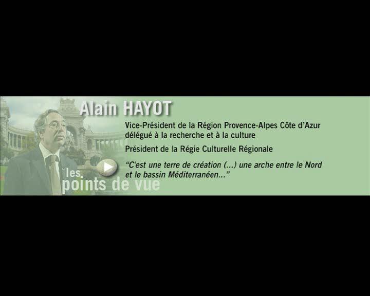 Durance, parcours et regards - Les points de vue : Alain Hayot (La)