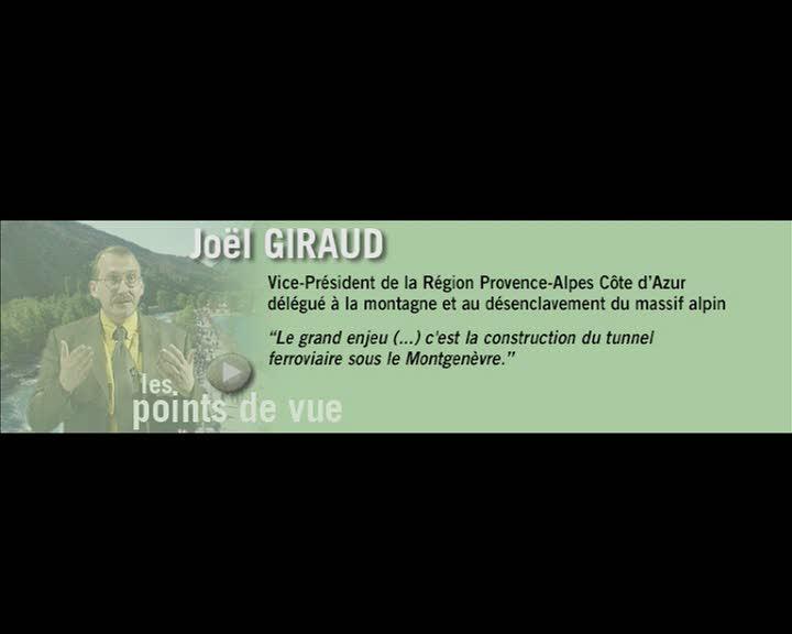 Durance, parcours et regards - Les points de vue : Joël Giraud (La)