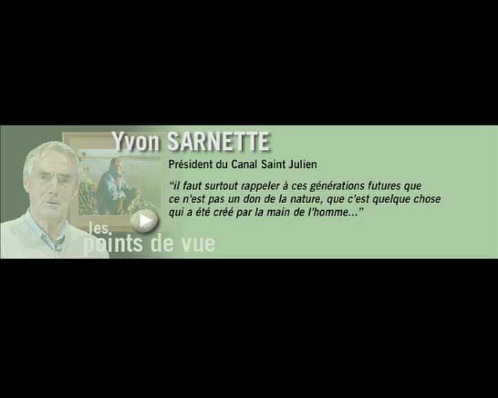 Durance, parcours et regards - Les points de vue : Yvon Sarnette (La)