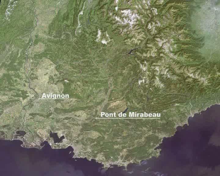 Géocinérama : Rhône et Durance