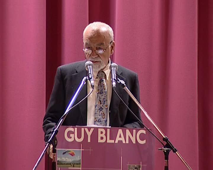 Meeting de Guy Blanc, candidat aux élections municipales de Gap