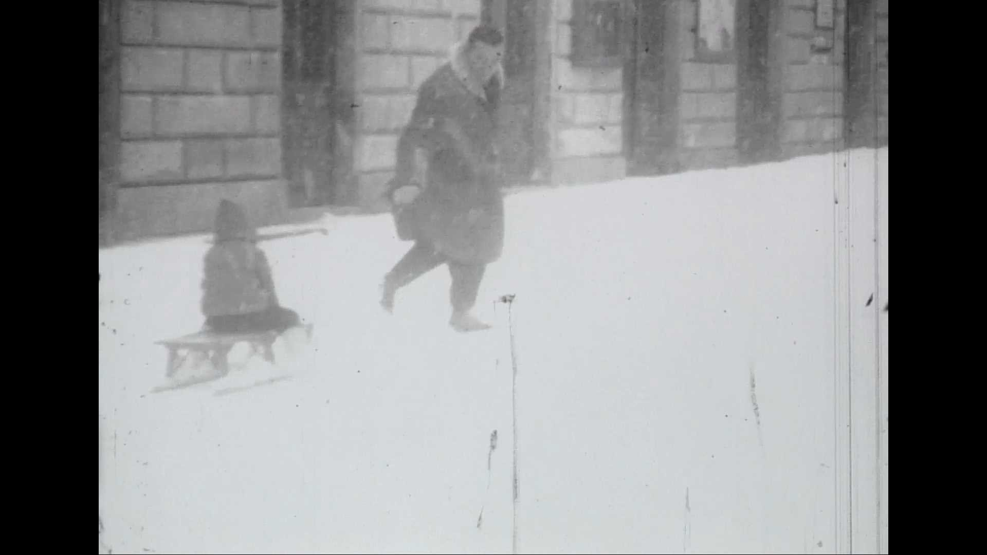 Première sortie à la neige