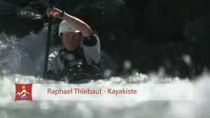Kayak en eau-vive. Raphaël Thiébaut - Kayakiste et photographe