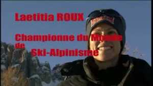 Laëtitia Roux, compétition de ski-alpinisme, Réallon Aiguilles de Chabrières