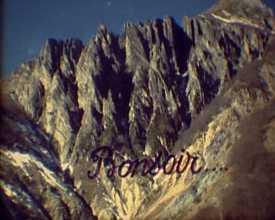 Randonnées en montagne, 1990-1991