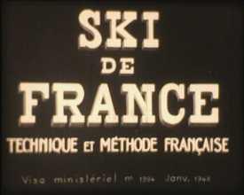 Ski de France : technique et méthode française