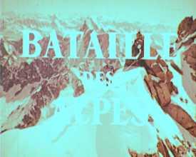 Bataille des Alpes