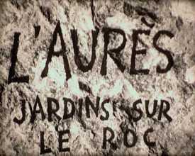 Aurès, jardins sur le roc (L')