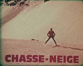 Ski de France : chasse-neige & les virages 1