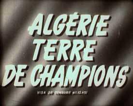 Algérie, terre de champions
