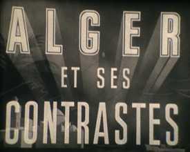Alger et ses contrastes