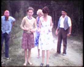 Partie de boules en famille, 1980 ...