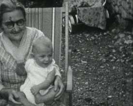 Vacances d'été à Ventavon, 1953
