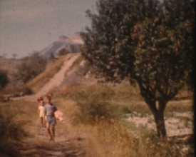 Vacances d'été à Ventavon, 1957
