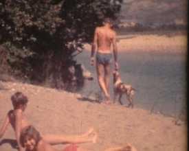 Vacances d'été à Ventavon, 1960