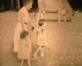 Promenade avec les enfants