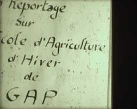 Enseignement agricole dans les Hautes-Alpes