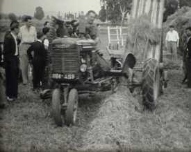 Démonstration de matériel agricole