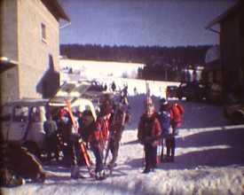 Promenade à skis de fond