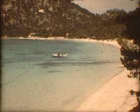 Bord de mer, années 1960