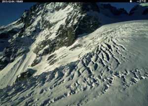 Evolution du Glacier Blanc