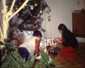 Noël dans les années 1970