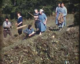 Vacances à Monêtier-les-Bains 1963