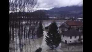 Inondation du Rhône à Yenne (L')