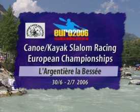 Championnats d'Europe de slalom de canoë-kayak